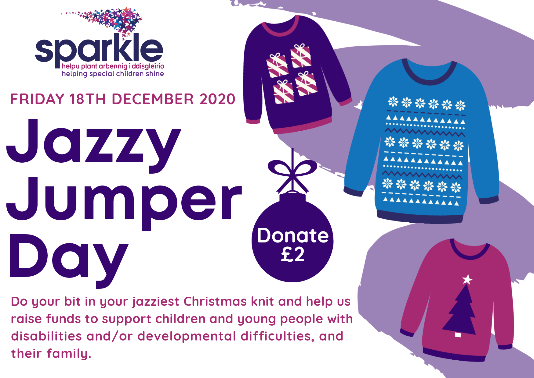 Jazzy Jumper Day 2020